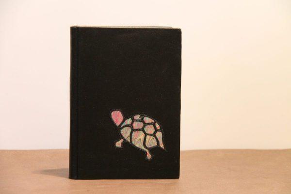 Schildkröte rosa-grün
