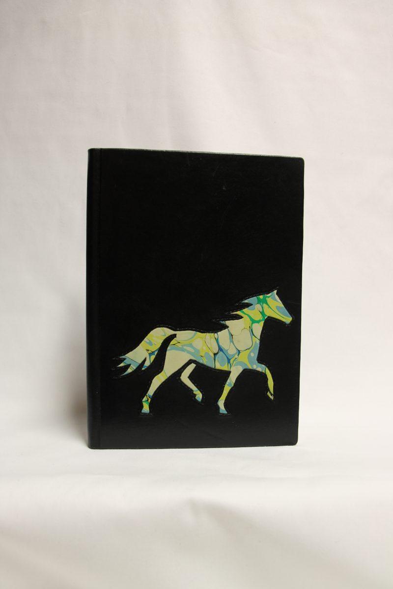 Pferd hellblau