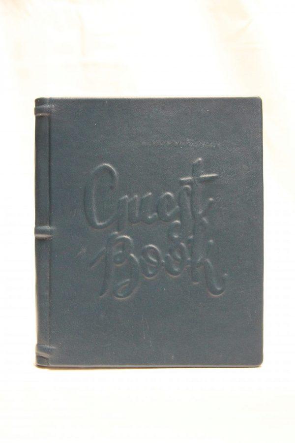 Guestbook blau